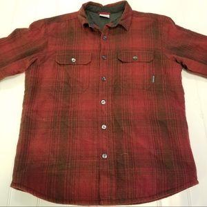Columbia Fleece Plaid Shirt